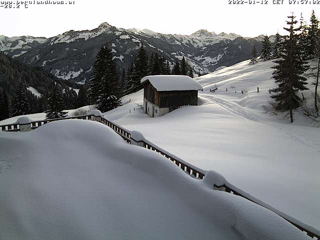 Webcam Berglandhaus Berndt